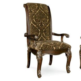 Hepburn Arm Chair by Astoria Grand