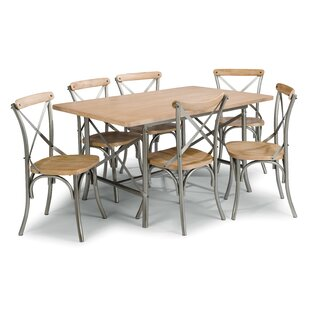 Hamann 7 Piece Dining Set Williston Forge
