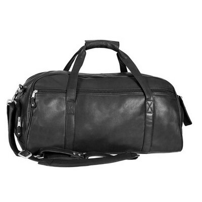 """Marble Canyon 23"""" Travel Duffel Canyon Outback Leather Color: Black"""