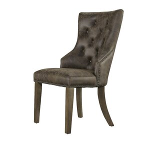 Burmeister Upholstered Dining Chair (Set of 2) Fleur De Lis Living