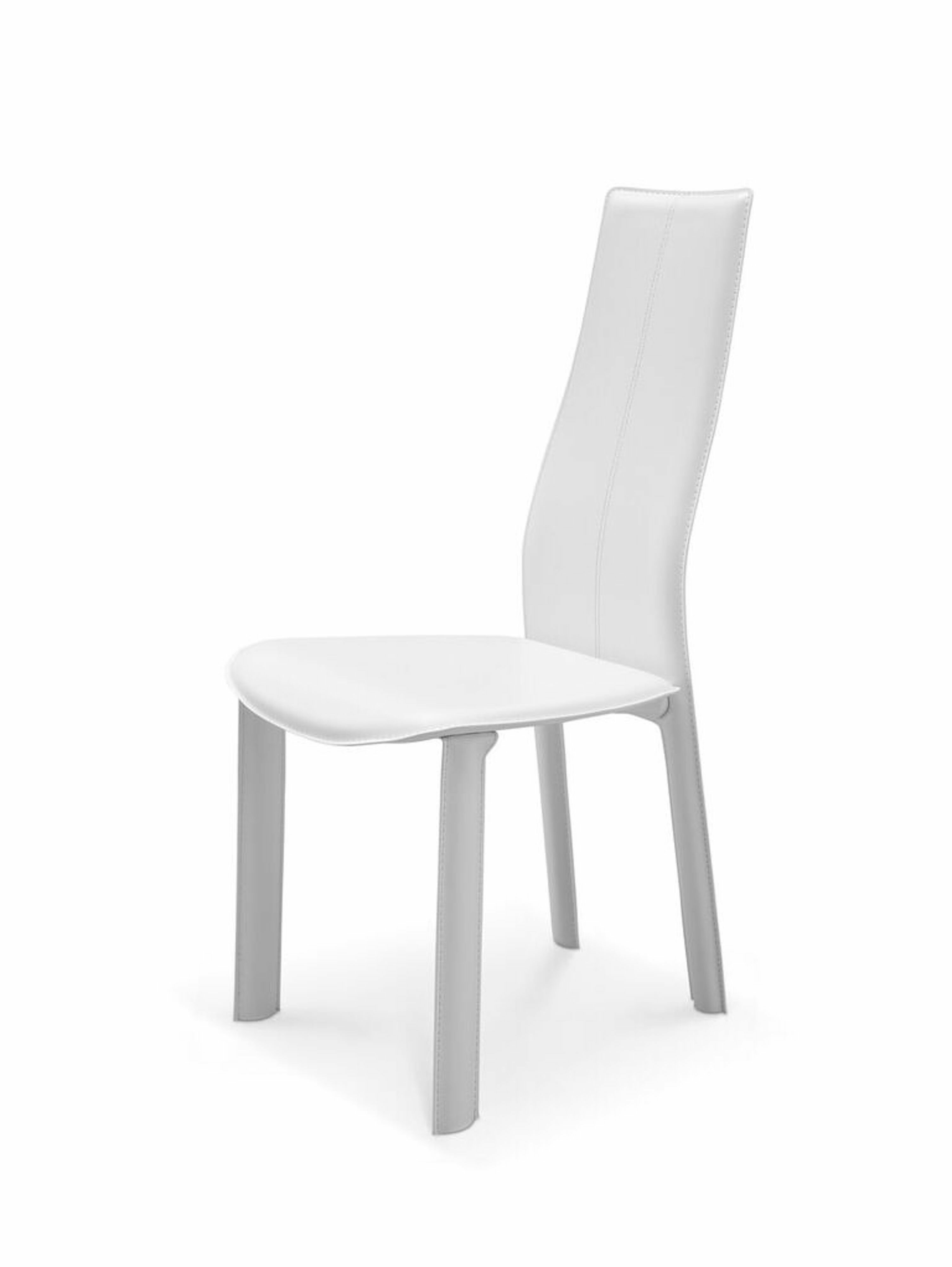 Strange Allison Genuine Leather Upholstered Dining Chair Gmtry Best Dining Table And Chair Ideas Images Gmtryco