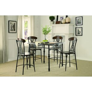 High Plain Counter Height Dining Table by Loon Peak