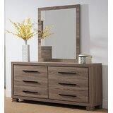 Larcan Robbinson 6 Drawer Double Dresser by Latitude Run®