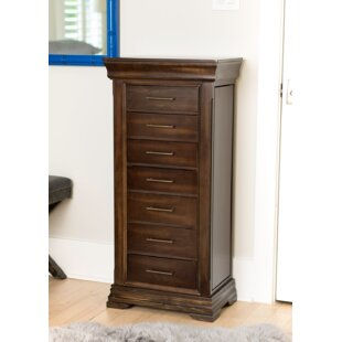 Order Galiena Free Standing Wood Jewelry Armoire with Mirror By Birch Lane™