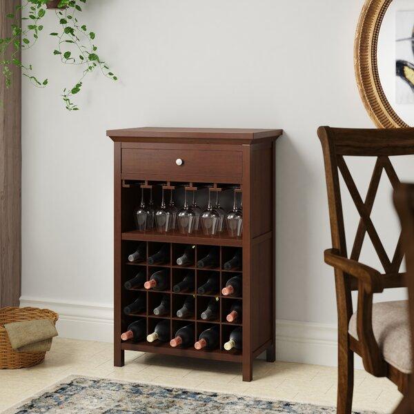 Darby Home Co Kepner Bar With Wine Storage Reviews Wayfair