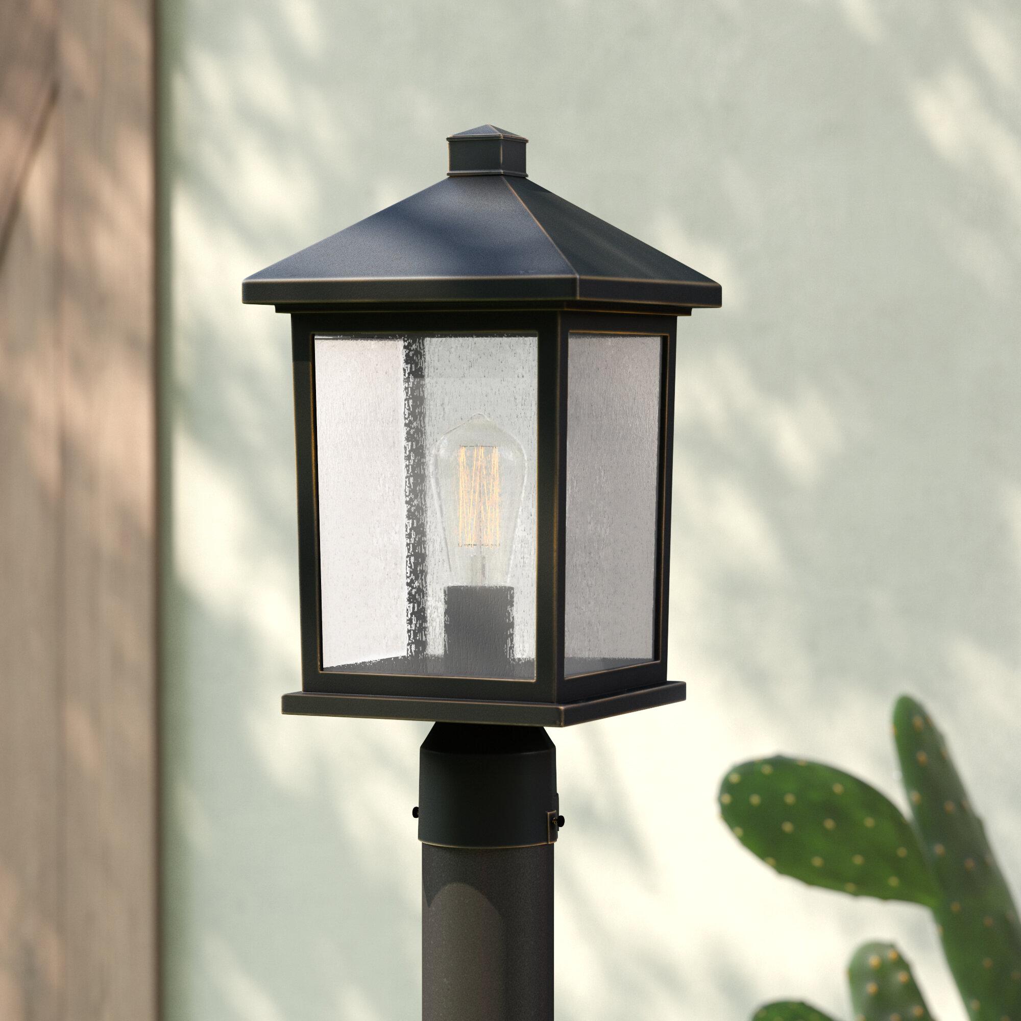 Sol 72 Outdoor Lovette 1 Light Lantern Head Reviews Wayfair