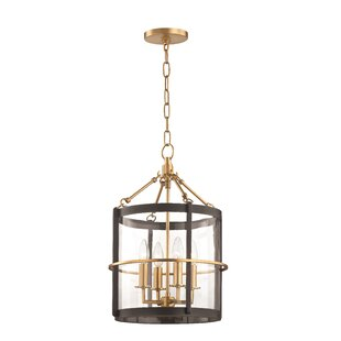 Longshore Tides Kendrick 4-Light Drum Pendant