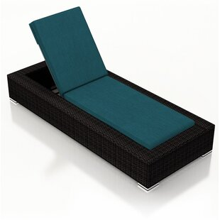 Azariah Armless Chaise Lounge with Cushion