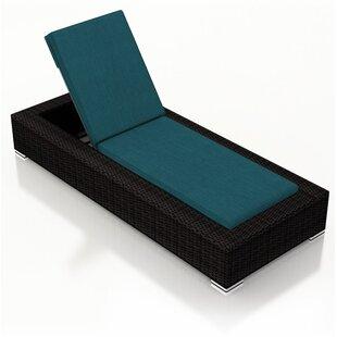 Azariah Armless Chaise Lounge with Cushion