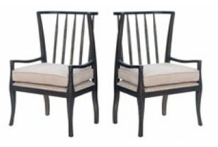 Brit Wing Arm Chair (Set of 2) by Gracie ..