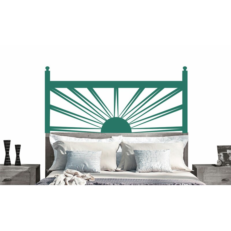 Sunrise Headboard Vinyl Wall Decal