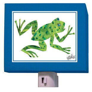 Oopsy Daisy Eric Carle's Frog Night Light
