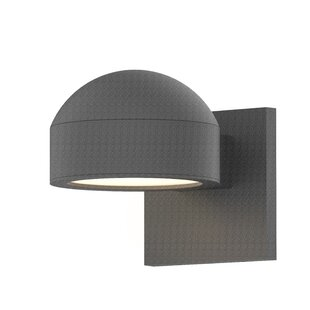 Best Reviews Algarin 1-Light LED Outdoor Armed Sconce By Latitude Run