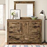 Abwe 6 Drawer Combo Dresser by Three Posts™