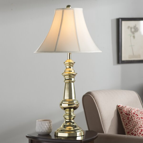 Polished brass table lamps wayfair aloadofball Images