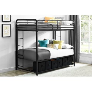Brogdon Twin over Twin Bunk Bed with Storage