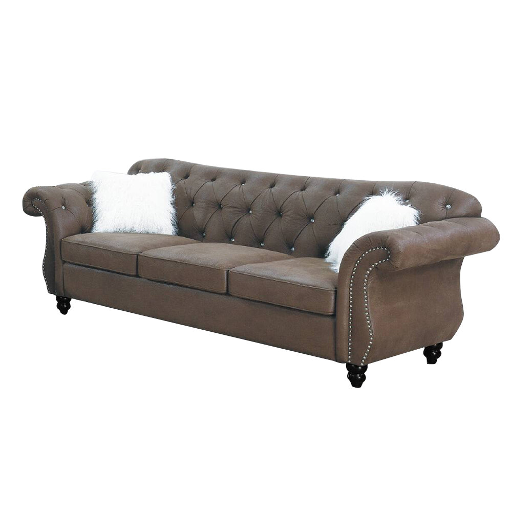 Faux Leather Alcott Hill Sofas You Ll Love In 2021 Wayfair