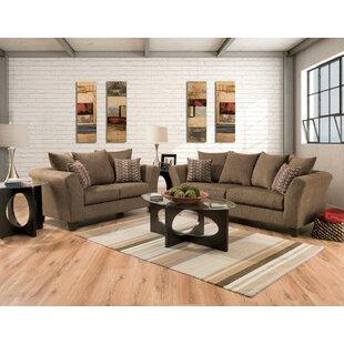 Stroman 2 Piece Living Room Set by Wrought Studio
