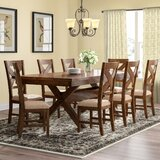 Warsaw 9 Piece Extendable Dining Set by Alcott Hill®