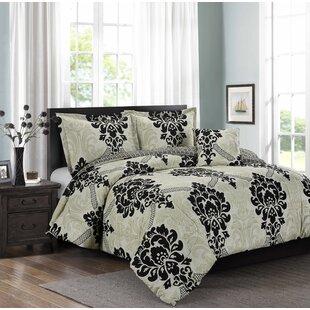 Swenson 4 Piece Comforter Set