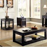Rentz 3 Piece Coffee Table Set by Gracie Oaks
