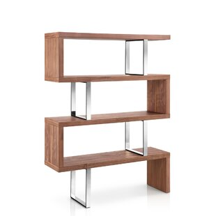 Lorne Geometric Bookcase by Everly Quinn