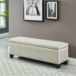 Lizzie Upholstered Storage Bench by Wrought Studio