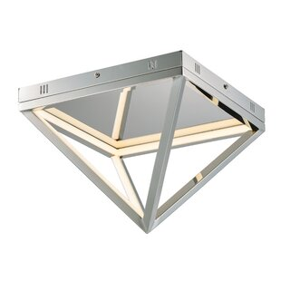 Orren Ellis Eberhard 1-Light LED Flush Mount