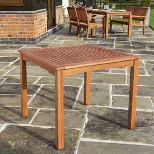 Solid Wood Dining Table By Sol 72 Outdoor
