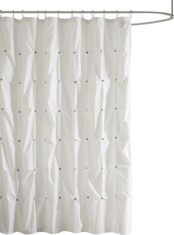 beige and gray shower curtain. Masie Cotton Shower Curtain Curtains You ll Love  Wayfair