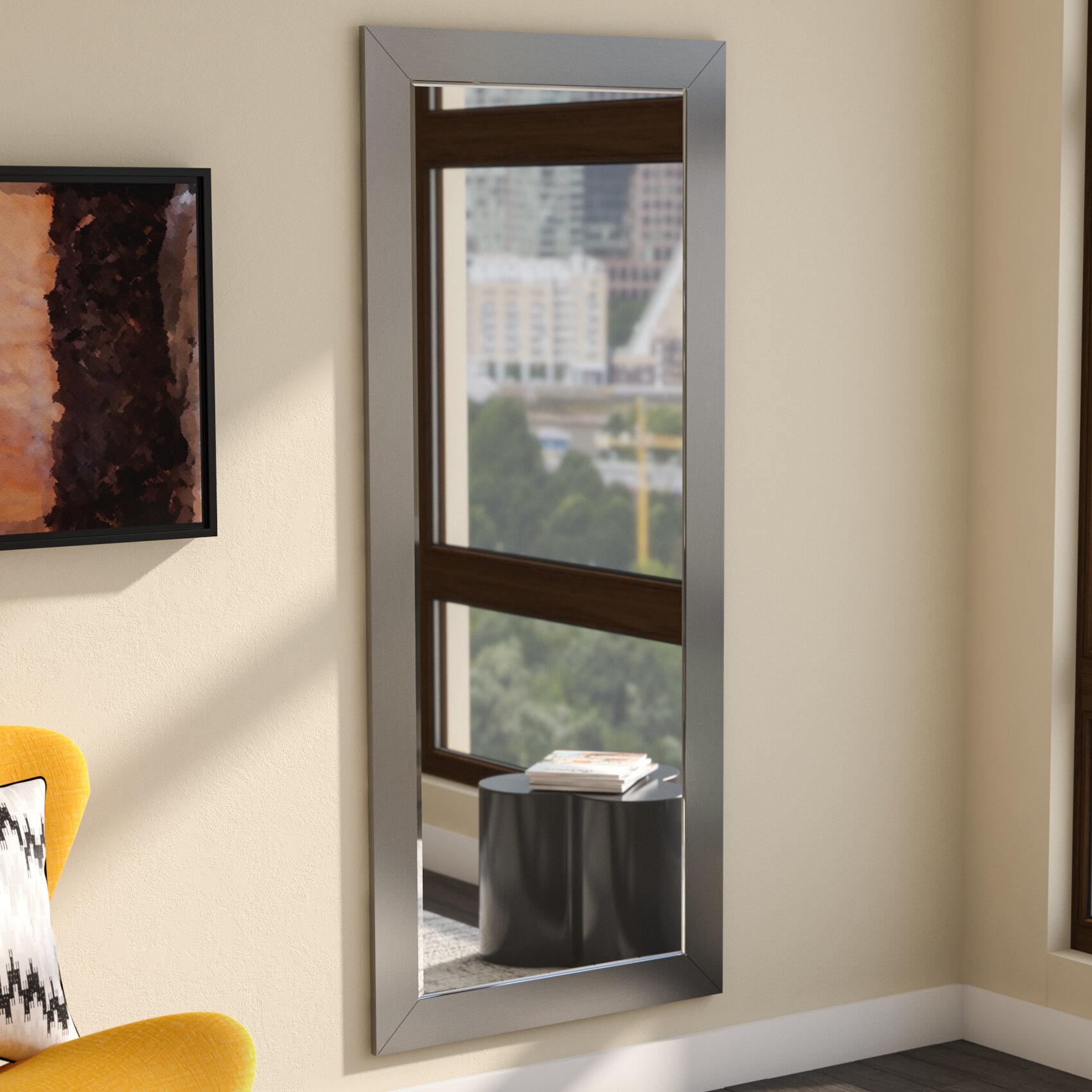 Zipcode Design Nigel Wide Full Length Beveled Body Mirror Reviews
