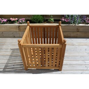 Veans Wooden Planter Box By Freeport Park