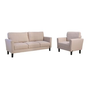 Colyt 2 Piece Living Room Set by Three Posts