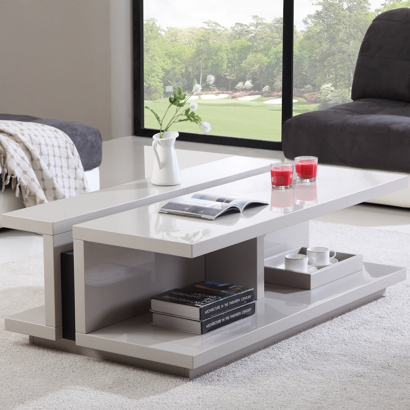 Merveilleux B Modern Dj Coffee Table | Wayfair