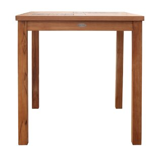 Juno Ridge Solid Wood Bistro Table By Rosecliff Heights