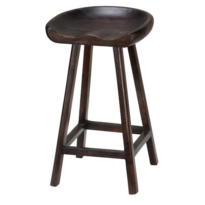 "Union Rustic Bracamonte 26"" Bar Stool"