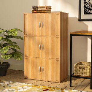 6 Door Storage Accent Cabinet