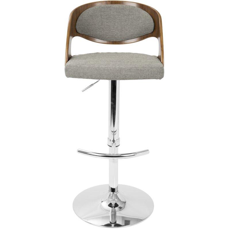 Superb Wade Logan Swivel Bar Stool Bar Stools Counter Height Uwap Interior Chair Design Uwaporg