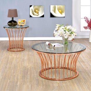 Mercer41 Elene 2 Piece Coffee Table Set