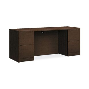 HON 10500 Series Executive Desk with Hutch