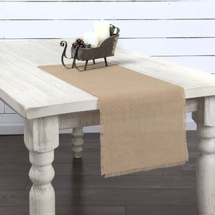 Lemanski Jute Burlap Table Runner
