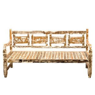 Mangus Reclaimed Wood Twin Daybed by Bungalow Rose