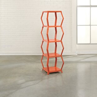 Witherspoon Geometric Bookcase by Turn on the Brights
