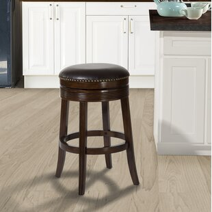 Stolz 30 Swivel Bar Stool by Darby Home Co