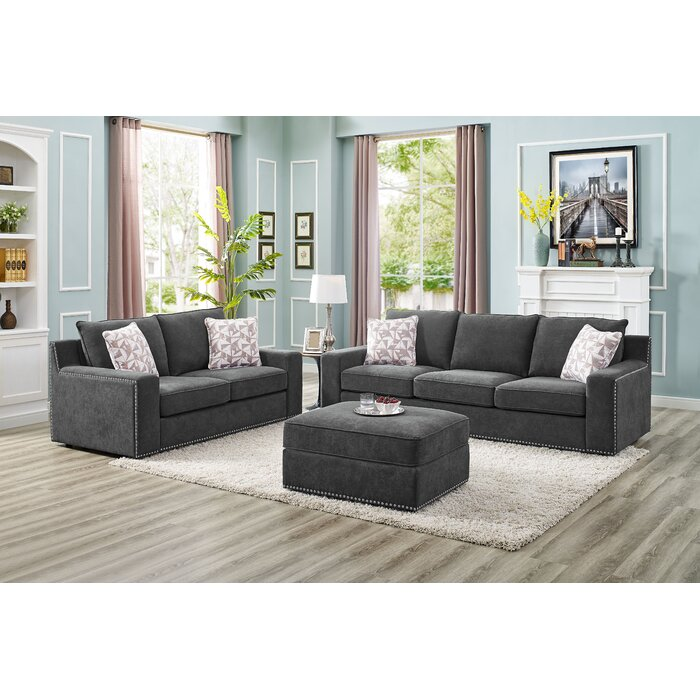 Tremendous Makah 5 Seater Sofa Set With Ottoman Ncnpc Chair Design For Home Ncnpcorg