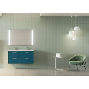 Barrister 1210mm Wall Hung Double Vanity Unit By Ebern Designs