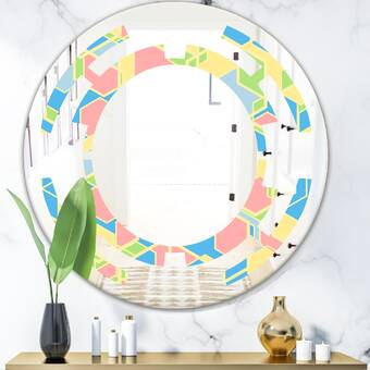 Orren Ellis Harel Ceiling Hung Mirror Reviews Wayfair