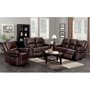 Pancoast 3 Piece Reclining Living Room Set by Red Barrel Studio