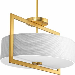 Urmee 3-Light Semi Flush Mount by Orren Ellis