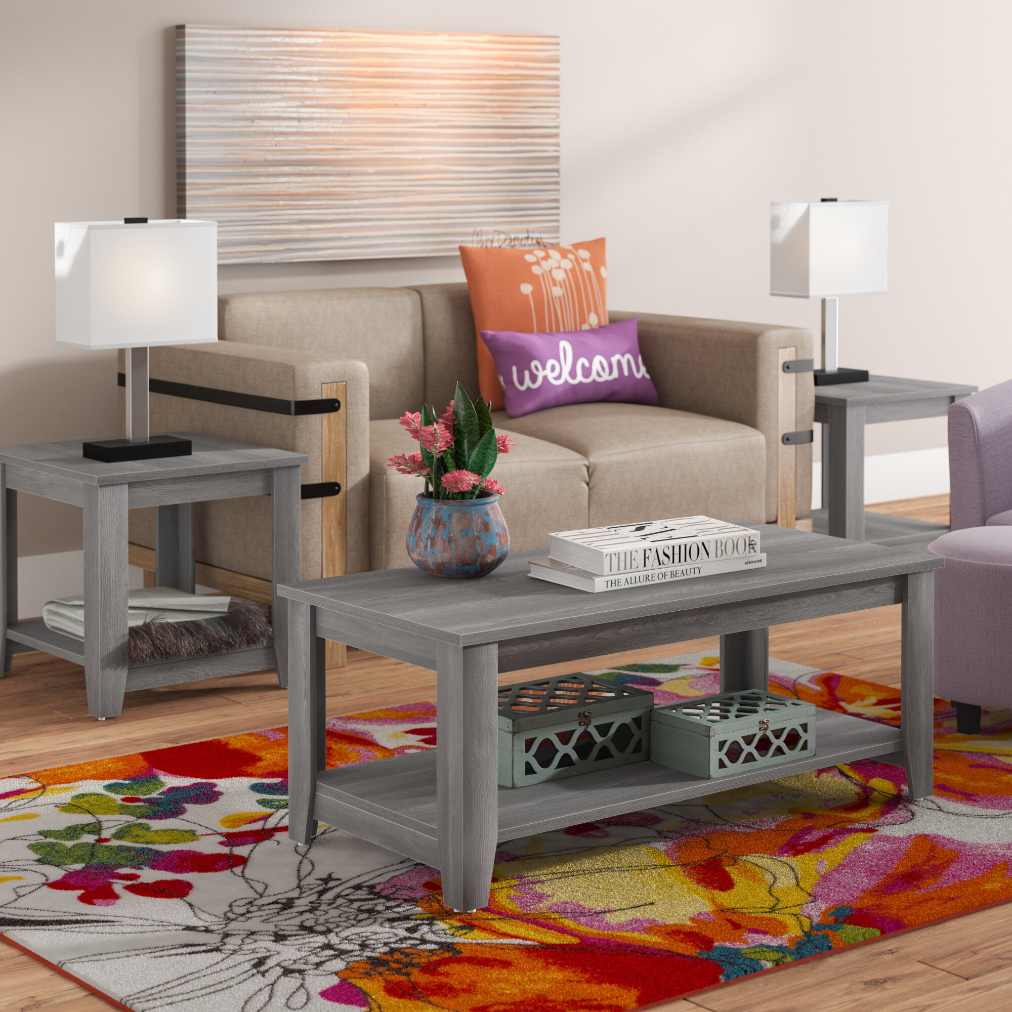 Zipcode Design Bulma Coffee Table Set & Reviews